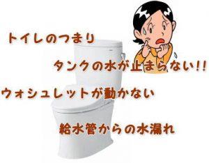 福島市でトイレのトラブルはライフへ